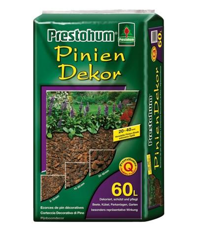 Piniendekor / Pinienrinde gesiebt aus Portugal , hochwertige Pinie Presto humus